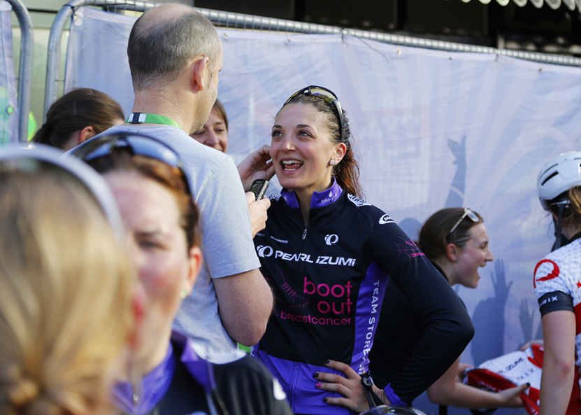 Charline Joiner: post-race interview