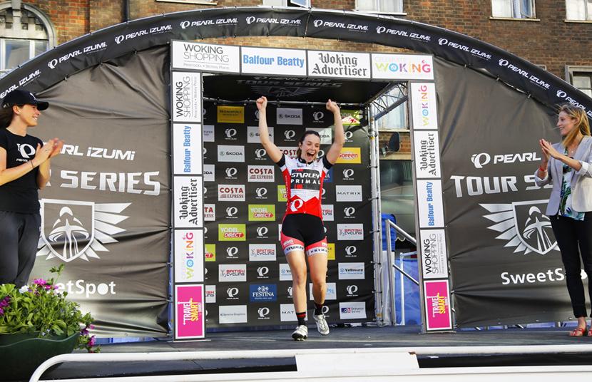 Winner: Eileen Roe of Starley Primal Pro Cycling