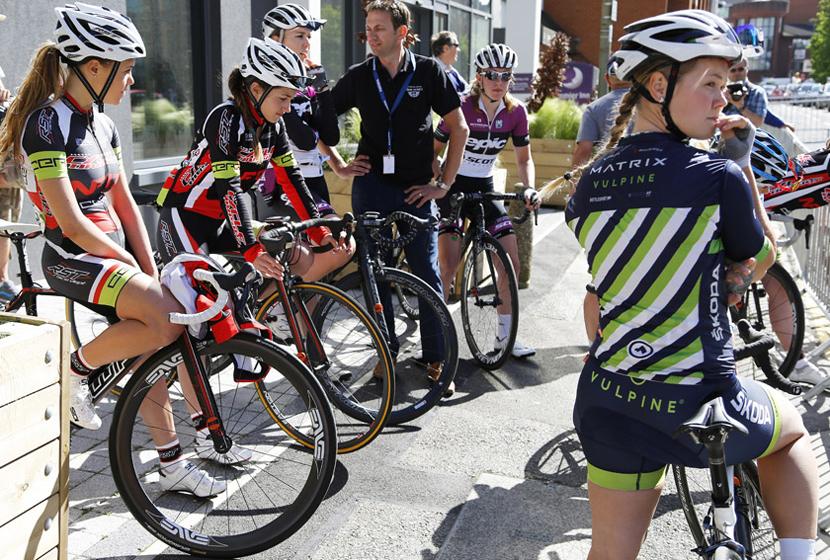 Harriet Owen of Matrix Pro Cycling