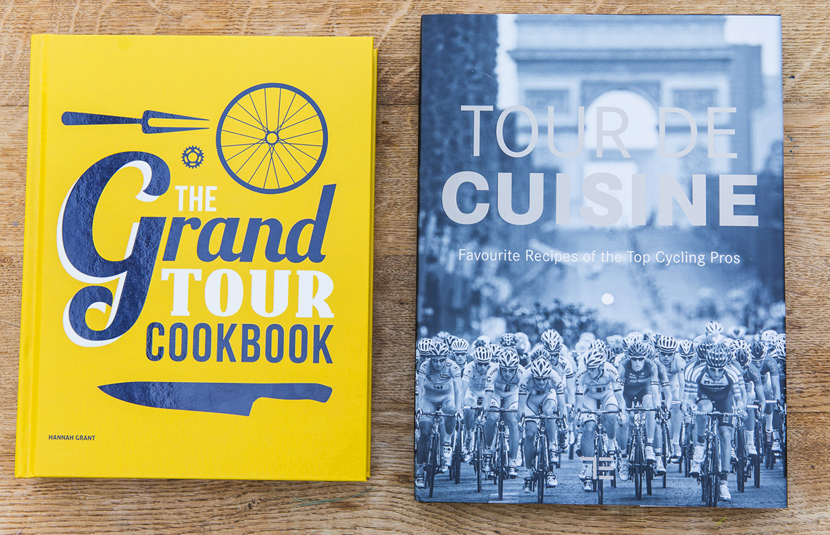 The Grand Tour Cookbook and the Tour de Cuisine cookbook