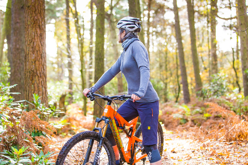 Findra - super stylish merino mountain bike gear.