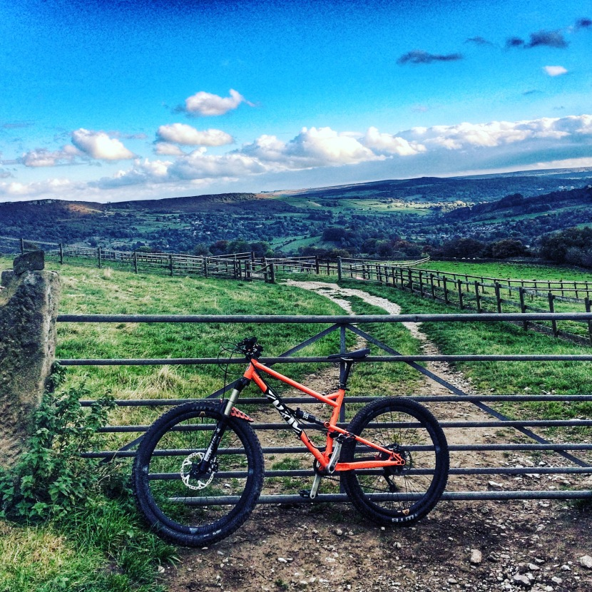 First ride: Cotic Flare and the Peak District